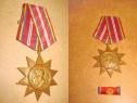 Medalia RPR Armata-25 Oct. 1944-1964 bronz. Stare ft. buna.