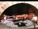Rotisor protap pentru prajit miel purcel inox nou electric