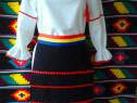 Costum popular pentru fetite/femei - 4 piese