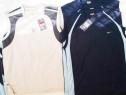 Tricou maieu Nike gri bleu bleumarin, lungime 75cm latime 57