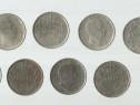 Set de 9 (noua) monede cu regele Mihai I, anii 1943, 1944