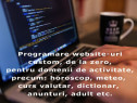 Programare website-uri sau aplicatii custom, de la zero