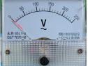 Ampermetru analogic de panou,100 uA, curent continuu-111430