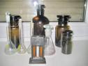 8135-Set 10 sticle Farmacie maro si transparente stare buna.