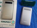 Power Bank Baterie externa KingMax 6000mah NOU,2 usb