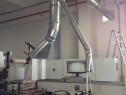 Sistem de aspirare si ventilatie pentru autocolante