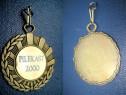 Set 3 medalii sportive vintage pilekast suedia alama.