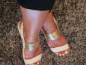 Sandale Aldo din piele naturala marimea 37