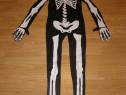 Costum carnaval serbare schelet pentru copii de 12-13 ani