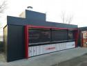 Top sidding 600mm gri pentru container de 6m