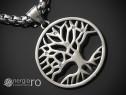 Pandant, amuleta, pandantiv copacul vietii inox - cod pnd141