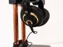 Suport stand handmade stativ casti  lemn masiv audio hifi