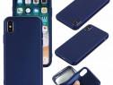 Husa 360 Din Silicon Fata Spate Folie Sticla - Iphone X XS 1