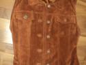 Vesta piele intoarsa firma harry brown rediscovered original