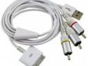 cablu Apple USB-TV (incarcare-date / audio-video)