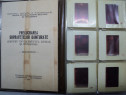 "Colectie: diapozitive ""prelucrarea suprafetelor..."" vintage"