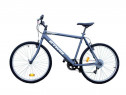 Bicicleta noua gri BTWIN RockRider 50, 26 inch 6 viteze gara