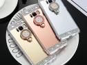 Huse Diamond cu inel Samsung S8 / S8 Plus / S9 /S9 Plus