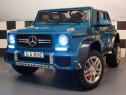 Masinuta electrica mercedes g650 maybach 4wd cu mp4 #blue