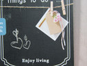 Tabla pt creta-things to do...enjoy living-chalkboard-cadou