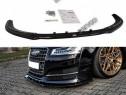 Prelungire splitter bara fata Audi S8 D4 2013-2017 v2