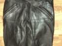 Pantaloni moto,chopper SCHUH,Germania,piele naturala calitat