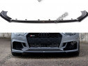 Prelungire splitter bara fata Audi RS3 8V FL Sedan 2017- v5