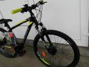 Bicicleta Kross Hexagon 5.0 27s Black Graphite Lime Mat 2019