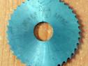 Freza disc - D.ext 50 x 1,6 mm (d.int 12 mm)