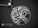Pandantiv Arborele, Pomul, Copacul Vietii Argint -cod PND910