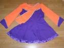 Costum carnaval serbare rochie dans gimnastica adulti M
