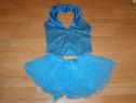 Costum carnaval serbare rochie dans 7-8 ani