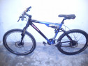 Bicicleta 26 full suspension