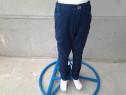 Blue H&M - pantaloni lungi copii 8 ani