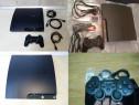 PS3 slim Modat / Decodat - cu 45 jocuri, Garantie - Fifa 19