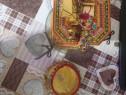 Artă indiana placata cu aur de 22kt
