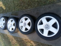 Set jante aluminiu 5x100 pe 15 polo golf 4 skoda