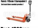 Transpalet Profesional Manual 2.5 3 Tone Furci 80 115 200 cm