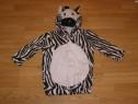 Costum carnaval serbare animal zebra 2-3 ani