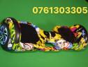 Hoverboard graffiti 1000w bluetooth+boxa telecomada+geanta