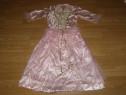 Costum serbare rochie barbie pentru copii de 7-8 ani