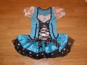 Costum carnaval serbare rochie bavareza printesa 4-5 ani