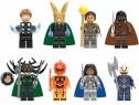 Set 8 Minifigurine tip Lego Super Heroes cu Thor si Valkyrie