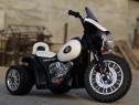 Motocicleta electrica de Politie JT568 cu 3 roti , pt. copii