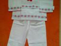 Costum popular pentru baieti 5-7 ani
