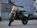 Motocicleta electrica Eco Tiger 1000W 36V 12/10 #Galben