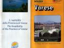 Varese : harta + prospect hoteluri