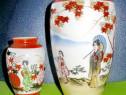 1066-I-Vaze mici Japonia portelan vechi stare buna.