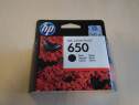 Cartus negru black model HP 650 nou sigilat imprimanta origi
