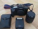 Canon Eos 650 Cu Obiectiv 35-80 și Blitz Canon